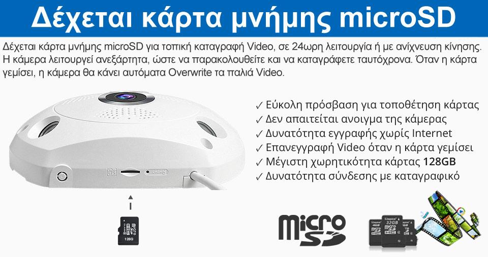 Vstarcam C18S IP Camera microSD Card